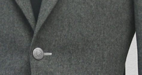グレーフランネルジャケット