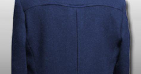 ジャケットのバックスタイル
